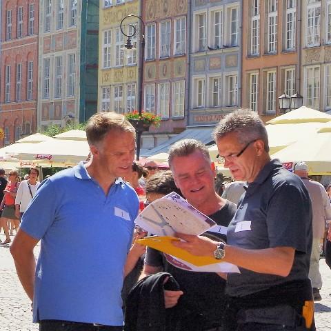 Urban gaming in Gdansk