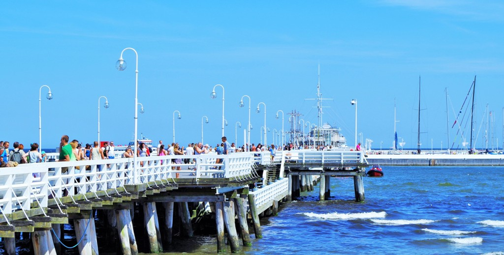 Pier in Sopot. Group travel tour – Hit The Road Travel
