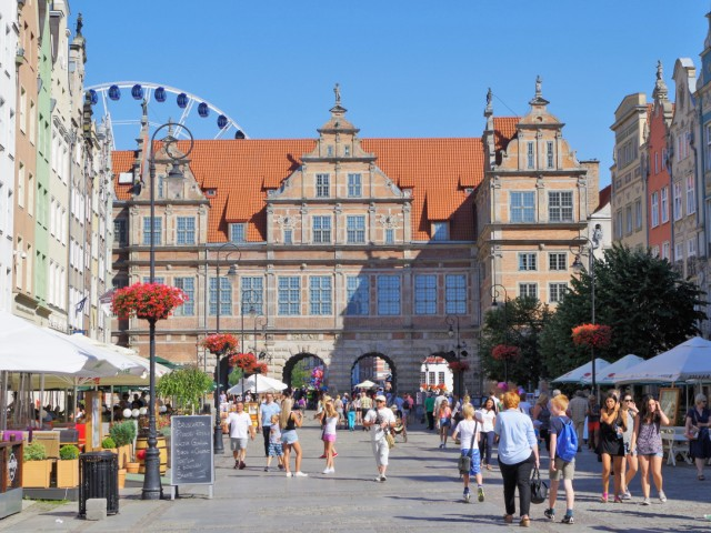 Green Gate, Long Market Square in Gdansk. Tour to Gdansk, Sopot and Gdynia – Hit The Road Travel