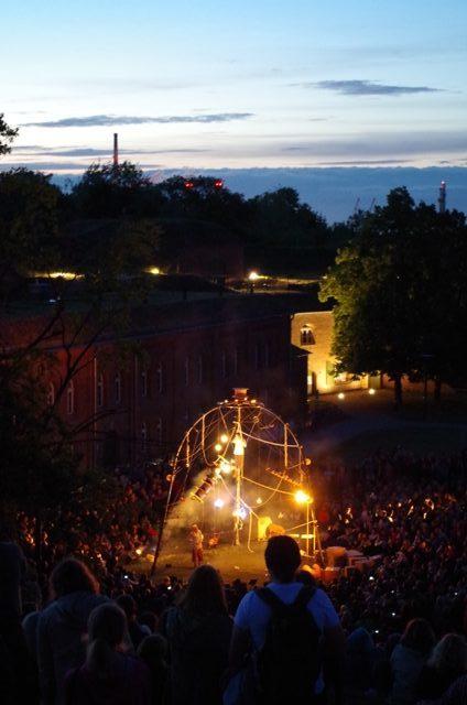 Cia. Estampades (Spain), Enfila S.A. - FETA International Open Air and Street Theatre Festival in Gdansk