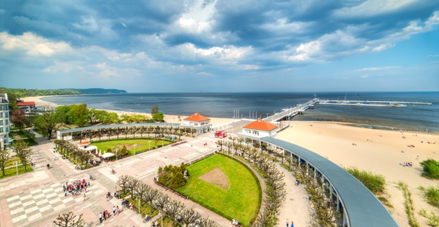 Pier in Sopot, Spa Square. Tour to Gdansk, Sopot and Gdynia – Hit The Road Travel