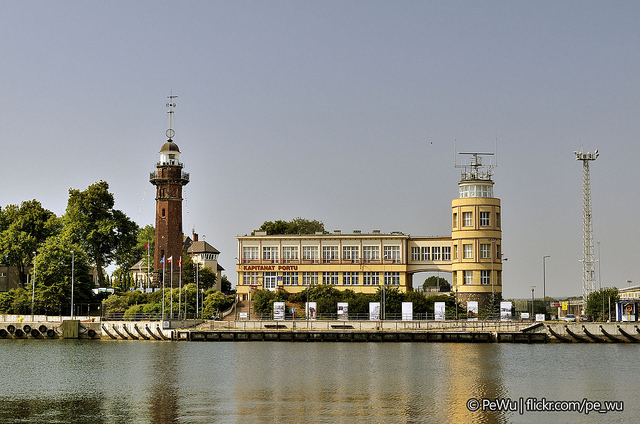 The lighthouse in New Port, Gdansk. Marine Tours of Gdansk, Sopot, Gdynia – Hit The Road Travel