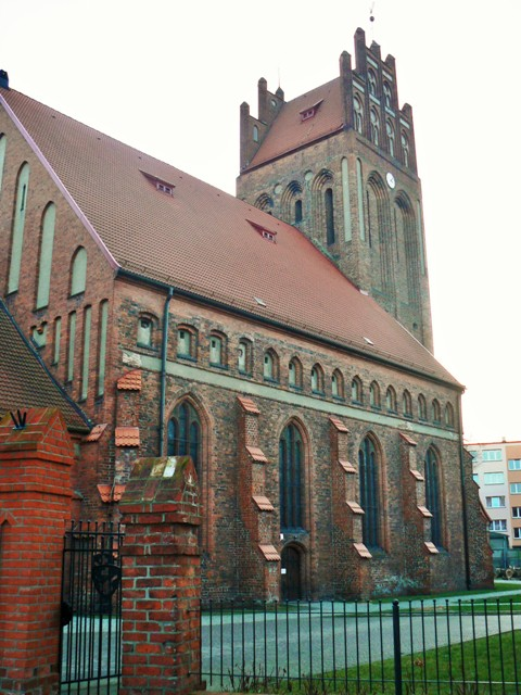 St. James' Church in Lebork. Pilgrimage to Poland – Hit The Road Travel