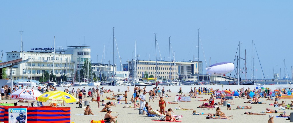 The city beach in Gdynia. Marine Tours of Gdansk, Sopot, Gdynia – Hit The Road Travel
