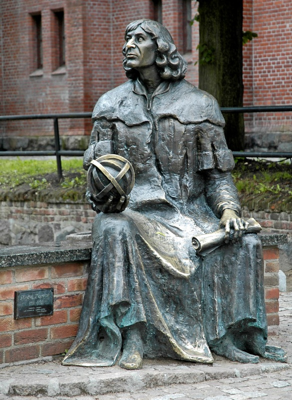 Copernicus monument in Olsztyn. Package tour – Nicolaus Copernicus tour of Poland – Hit The Road Travel