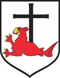 The coat of arms of Leba