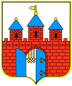 The coat of arms of Bydgoszcz