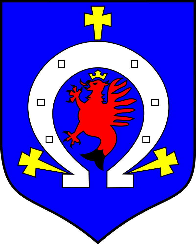 The coat of arms of Gniewino