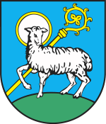 Lidzbark Warminski - the coat of arms
