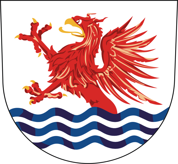 The coat of arms of Sopot