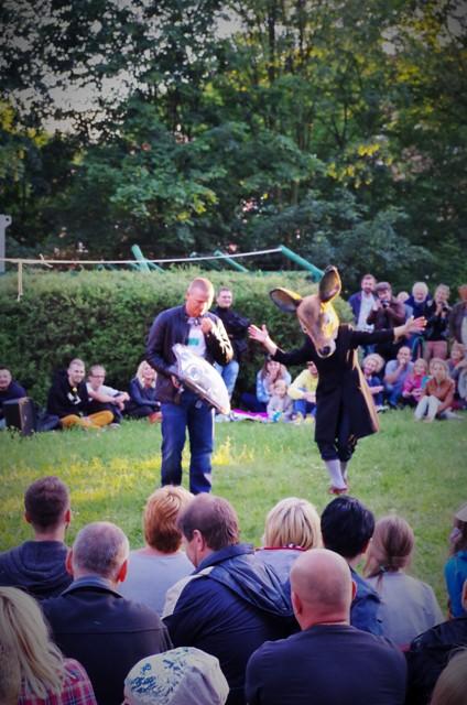 Teatr Pian (Poland), Wypożyczalnia eksponatów niepewnych - FETA International Open Air and Street Theatre Festival in Gdansk