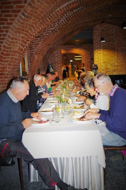 Lunch na Zamku w Lidzbarku Warmińskim