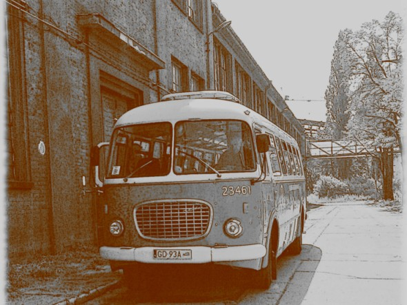 Nostalgic bus - Jelcz 043. Gdansk Travel – Hit The Road Travel