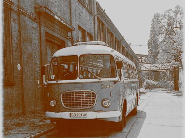 Nostalgic bus - Jelcz 043. Gdansk Travel – Hit The Road Travel