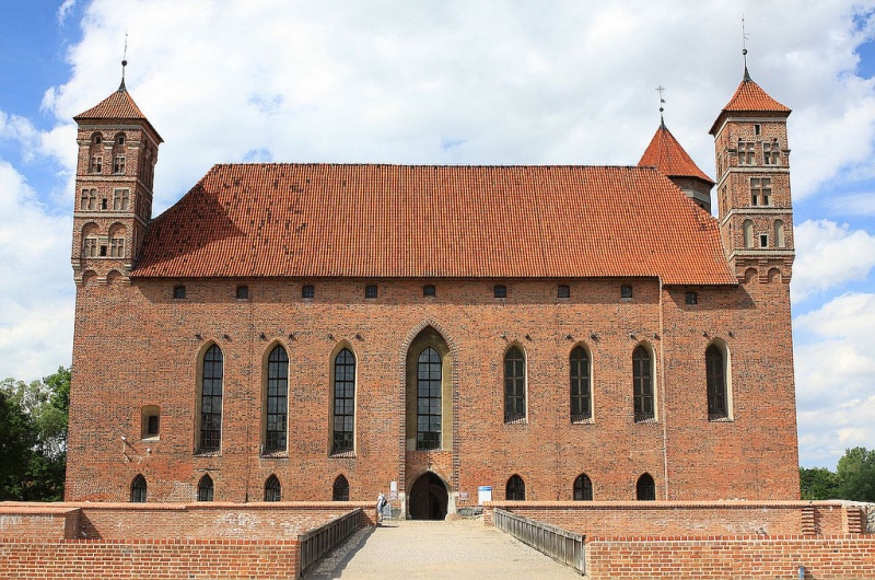 Castle in Lidzbark Warminski. Package tour – Nicolaus Copernicus tour of Poland – Hit The Road Travel