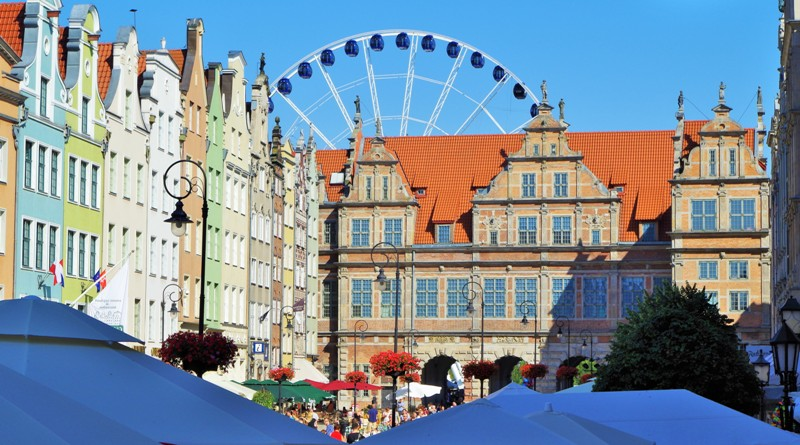 Long Market Square in Gdansk, the Green Gate. Package tour – Nicolaus Copernicus tour of Poland – Hit The Road Travel