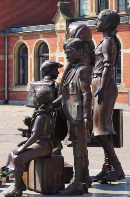 Frank Meisler's Kindertransport memorial in Gdansk. Tours of Gdansk – Hit The Road Travel