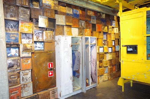 European Solidarity Centre - exhibition dedicated to Gdansk Shipyard