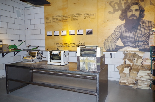 European Solidarity Centre - underground press