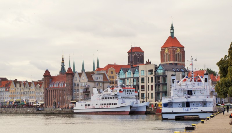 Gdansk - panorama of the centre. Gdansk Travel – Hit The Road Travel