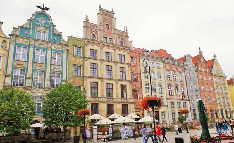 Royal way in Gdansk. Group tours to Poland – Hit The Road Travel