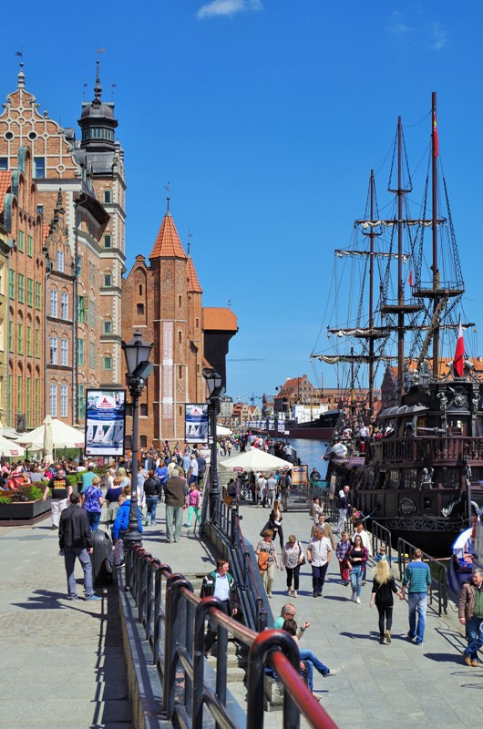Long Quay in Gdansk. Tours of Gdansk – Hit The Road Travel