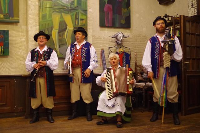 Występ kapeli kaszubskiej
