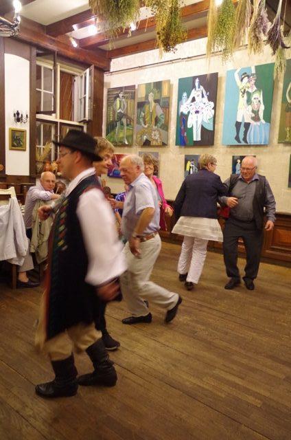 Nauka tańca kaszubskiego