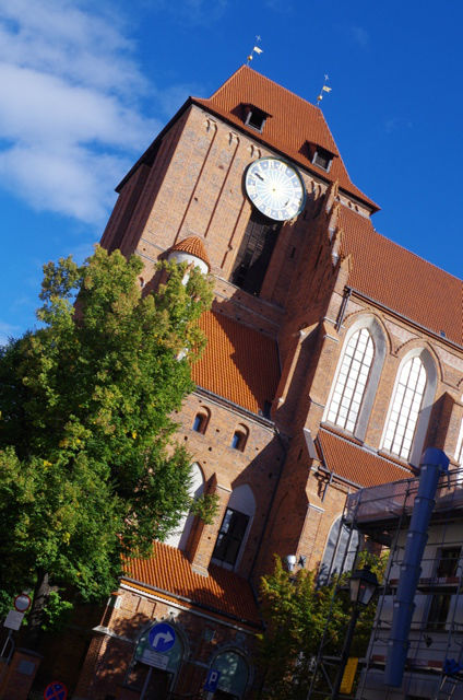 Church of St. John the Baptist and St. John the Evangelist in Torun. Package tour – Nicolaus Copernicus tour of Poland – Hit The Road Travel