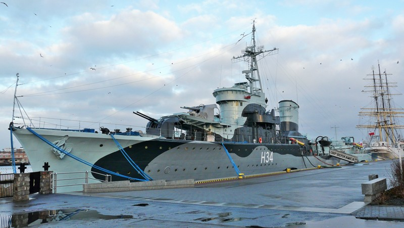 ORP Blyskawica, Gdynia. Military tours – Hit The Road Travel