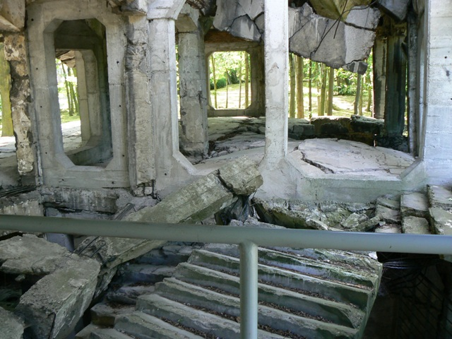 Ruins of ammunition depot in Westerplatte, Gdansk. Military tours – Hit The Road Travel