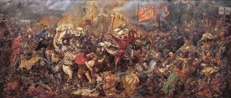 The Battle of Grunwald by Jan Matejko