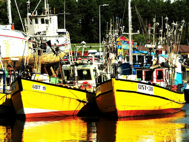 The fishing port in Ustka. Pilgrimage to Poland – Hit The Road Travel