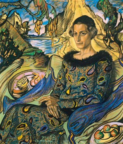 Stanisław Ignacy Witkiewicz Witkacy, portrait of Maria Nawrocka. Group travel tour – Hit The Road Travel