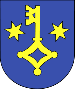 The coat of arms of Hel (Poland)