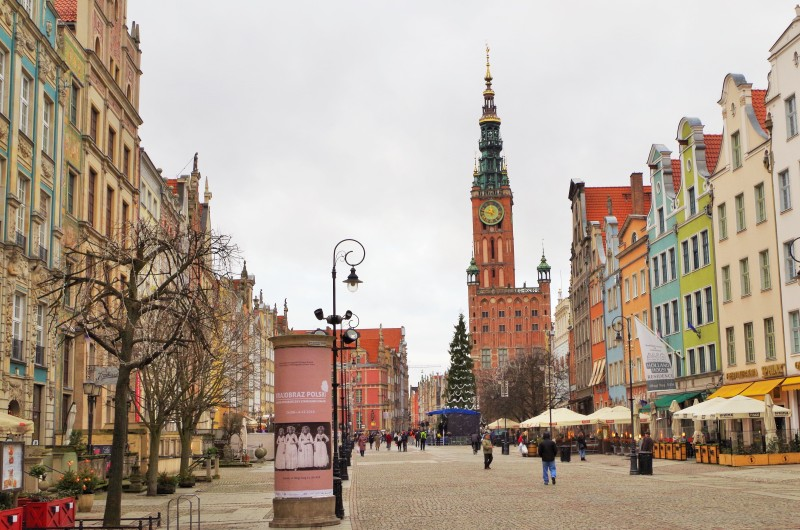 Royal Way in Gdansk. Conference cruise to Poland – Hit The Road Travel
