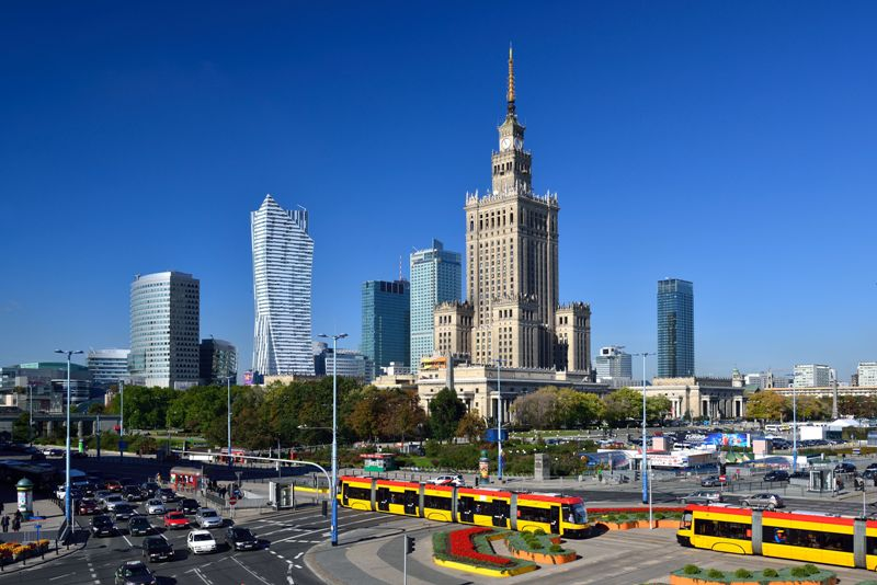 Warsaw's City with the Palace of Culture. Warsaw tour – Hit The Road Travel