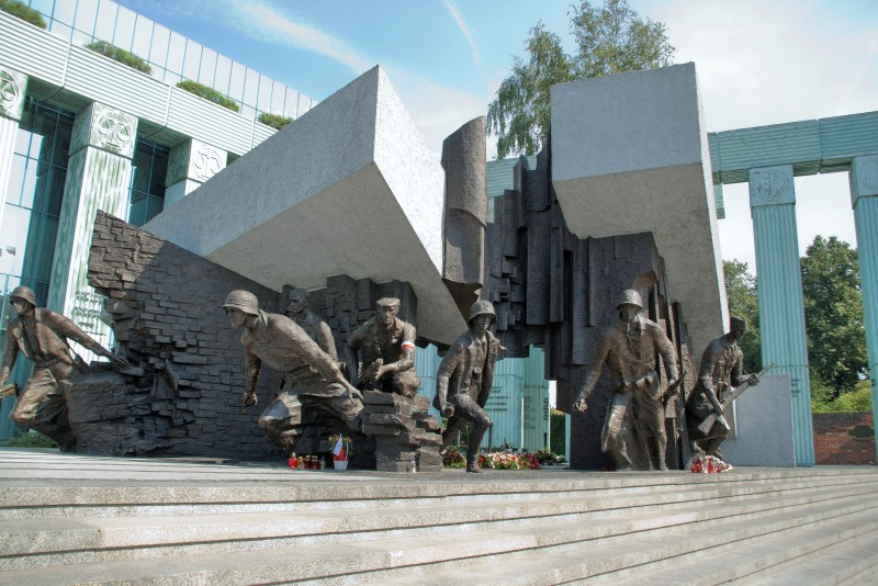 Warsaw Uprising Monument. Warsaw tour – Hit The Road Travel