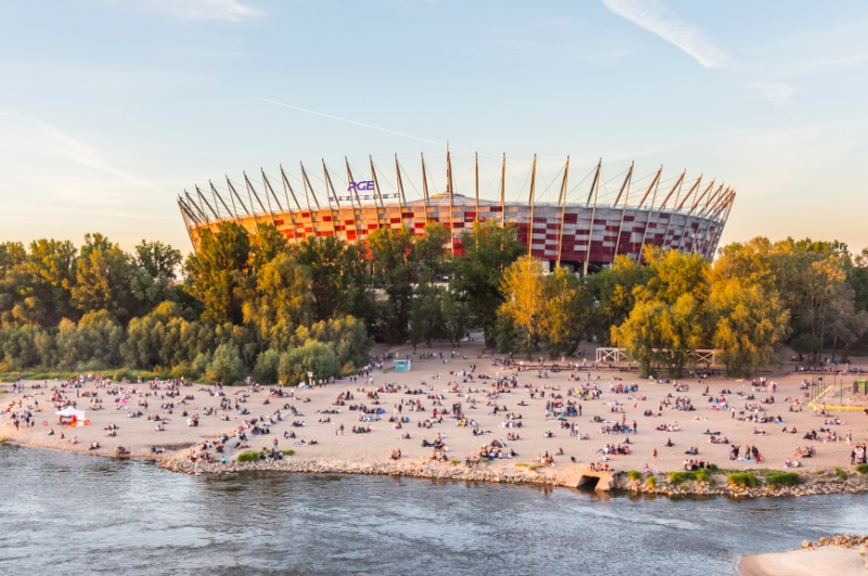 Narodowy Football Arena in Warsaw. Warsaw Tour - Hit The Road Travel